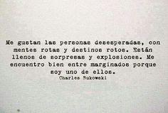 Charles bukowski - Spanish