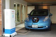 Nissan Leaf power control system