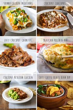 Favorite Mexican Crockpot Recipes - LOVE Mexican food, love Crockpot.....love