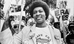 Just in time for Women's Equality Day 8/26 Women's movement: Brenda Frazier marches for the Equal Rights Amendment. - FROM THE COLLECTION OF BRENDA FRAZIER.