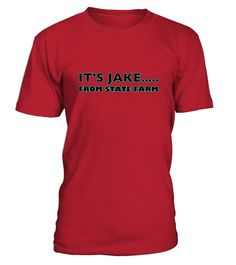 Halloween T shirt   It S Jake From State Farm  light Colours