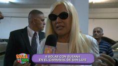 En el marco del Carnaval de San Luis, El Chino D´angelo entrevistó a la diva de los teléfonos. Mira todo lo que dijo acá: