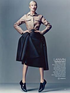 Identity Politics, styled by Grace Coddington for US Vogue July 2013 | #inspiredby