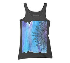 Blue Mandala Women's Small Charcoal Graphic Tank Top - Design By Humans Design By Humans http://www.amazon.com/dp/B0144TO9TU/ref=cm_sw_r_pi_dp_wag8vb0D93HTE