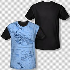 Star Trek Original Illustrated VECTOR CREW Licensed BOYS /& GIRLS T-Shirt S-XL