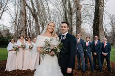 Pink and white native wedding bouquet by Naomi Rose Floral Design Photo from Simon + Alex collection by Jerome Cole Photography