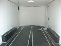 enclosed carhauler trailer with full finished interior and 3 rows of E-track a great addition for any car or motorcycle
