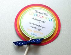 Rainbow Party Invitations with Envelopes  12  by ThePaigeSpot
