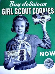 It's almost that time! Who's counting down to Girl Scout Cookie Season?   #ThrowbackThursday   (via Girl Scouts of Central Maryland)