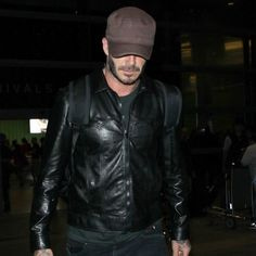 Style God David Beckham Continues to Murder the Airport Fashion Game | GQ