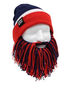 Another great find on #zulily! Montreal Canadiens Tailgate Barbarian Beard Beanie by Beard Head #zulilyfinds