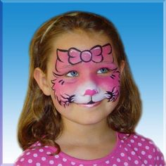 Girls Birthday face paint