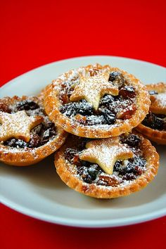 Traditional Fruitmince Tarts Eat Me Drink Me, Christmas Treats, Christmas Foods, Christmas Cooking, Sweet Tarts, Pastry Recipes, Doughnut, Easy Meals, Coconut