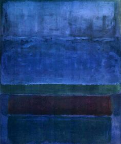 Untitled (Blue, Green, & Brown): oil on canvas: Mark Rothko: 1952  http://www.triquarterly.org/issues/issue-146/untitled-blue-green-brown-oil-canvas-mark-rothko-1952