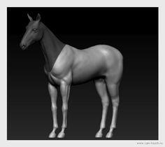 3D печать, ZBrush, bjd, моделирование