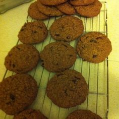 Cranberry orange oat cookies Oat Cookies, Muffin, Baking, Orange, Breakfast, Desserts, Food, Oatmeal Raisin Cookies, Morning Coffee