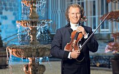 Fame & Fortune: Superstar violinist André Rieu is the world's most successful   touring musician. But, he says, it hasn't always been a profitable career