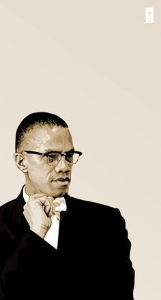 Malcolm X II  by *monsteroftheid