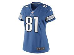 NFL Detroit Lions (Calvin Johnson) Womens Football Home Limited Jersey - $130