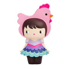 Limited Edition Henrietta For Easter 2015  500 Pieces. Momiji Message dolls. Each one hides a tiny note for a secret message, dream or wish.  Super Kawaii Easter Decorations  Easter Bonnet Inspiration!