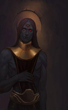 The Elder Scrolls,фэндомы,TES art,Morrowind,Дагот Ур,TES Персонажи,atananuk