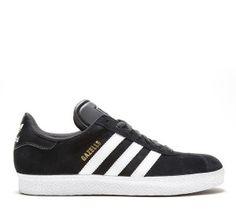 Achat/Vente Homme Adidas Originals Gazelle II Trainer Noir Blanc Boutique En Ligne Pas Cher