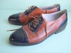 I like these saddle shoes. Very cool. Now, I just need the rest of ensemble to go with them.