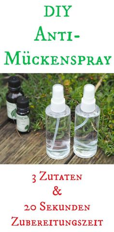 DIY Mückenspray As soon as the sun is here and summer comes, the mosquitoes will come. For this I use this DIY anti - mosquito spray. There is no better mosquito repellent and it is made in less than Wine Bottle Crafts, Mason Jar Crafts, Mason Jars, Trailers Camping, Blog Food, Mosquito Spray, Anti Mosquito, Diy Beauty, Beauty Care