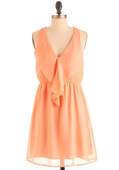 Apricot Gelato Dress-Wearing this to my brother's wedding!