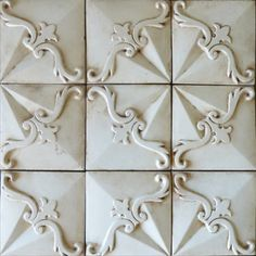 That would make one dreamy backsplash <3 Tabarka - Relevante 1 mediterranean floor tiles