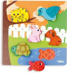Vilac - Pets Peg Puzzle