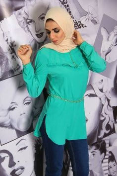 Casual hijab outfits by Jolie store | Just Trendy Girls