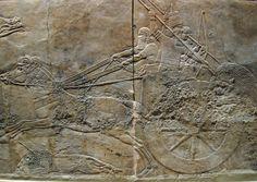 Anonyme - Art perse - Palais d'Asurbanipal (Ninive) : la Chasse au lion - British Museum, Londres