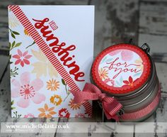 Michelle Last: Blooms & Wishes Click on the picture to visit Michelle's Blog. This was pinned from Kylie Bertucci's weekly Stampin' Up!® Pinterest Highlights.