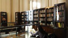 Buenos Aires. Argentina. La biblioteca del Teatro Colón reabrió luego de siete años. / Néstor Sieira