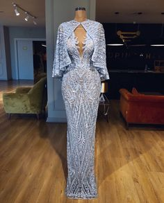 Sky Blue Arabic Evening Dresses Dubai Abaya Turkish Formal Gown 2018 Custom Made Robe De Soiree With Jacket Prom Party Dress Gala Dresses, Couture Dresses, Fashion Dresses, Elegant Dresses, Pretty Dresses, Formal Dresses, Dinner Gowns, Evening Dresses, Couture Mode