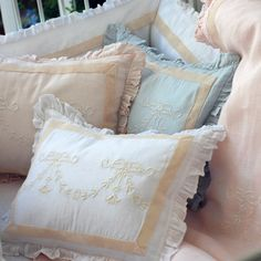 Pom Pom at Home Bedding Belle Linen Pillow Sham