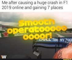 after causing a huge crash in 2019 online and gaining 7 places popular memes on the site Me after causing a huge crash in 2019 online and gaining 7 places popular memes on the site Daily Funny Collection Pics) Car Jokes, Funny Car Memes, Car Humor, Stupid Memes, Funny Relatable Memes, Fifa, Coaching, 7 Places, Formula 1 Car
