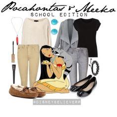 Pocahontas & Meeko