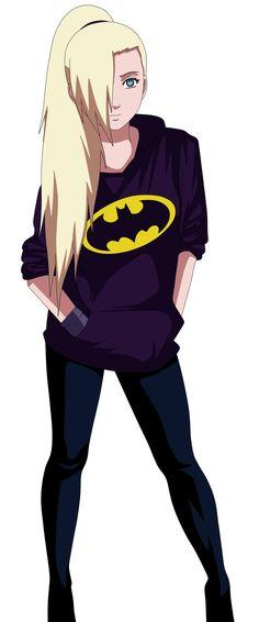 I ciuld see Ino wearing this! Ino Batman by kraddy07.deviantart.com on @DeviantArt