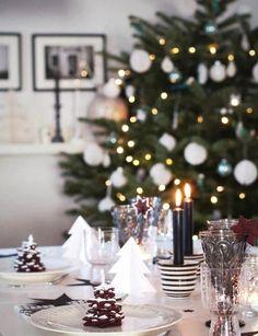 Déco : des idées de tables de Noël - RED BEAUTY