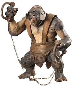"""Lord of the Rings The Two Towers Electronic ARMORED TROLL 10"""" Action Figure"""