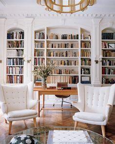 Organization Inspiration: Neat & Beautiful Bookshelves