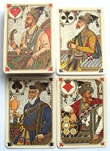 VINTAGE PLAYING CARDS STUNNING ORIENT EXPRESS RAILWAY GRIMAUD INDIENNES SEALED