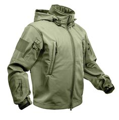 Crypsis - Special Ops Tactical Softshell Jacket - Olive Drab, $74.95 (http://www.crypsis.ca/special-ops-tactical-softshell-jacket-olive-drab/)