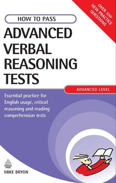 E-Books for Learners & Teachers of English: HOW TO PASS ADVANCED VERBAL REASONING TESTS