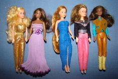 Glamour Gals - The much cheaper 4 inch tall version of Barbie for the family on a budget!  Plus they were the perfect date for GI Joe!