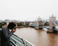 281/366 - Hasta la vista! Pic & edit by @rey8711 #london #towerbridge #views #holidays #mobilephotography #project365