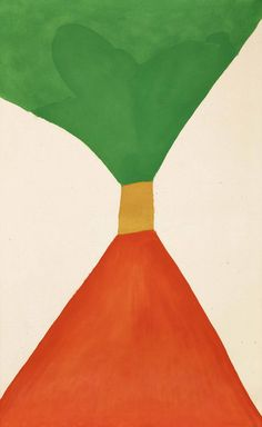 Jack Bush Tight Sash, July 1963 oil on canvas, 108.6 × 176.5 cm (42.75 ×  69.5 in.)