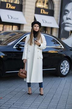 56fe23dc6645 38 Flawless Street Style Looks From Paris Haute Couture Week